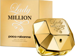 LADY MILLION EDP 80 ML ORIGINAL  - VICTOIRE ESSÊNCIAS