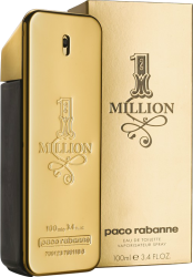 ONE MILLION EDT 100 ML ORIGINAL  - VICTOIRE ESSÊNCIAS