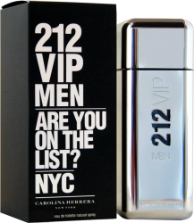 212 VIP MEN EDT 100 ML ORIGINAL  - VICTOIRE ESSÊNCIAS