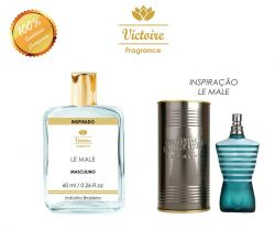 VICTOIRE 57 / INSPIRADO LE MALE JEAN PAUL GAUTIER 60 ML