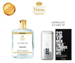 VICTOIRE 71 / INSPIRADO 212 VIP MEN CAROLINA HERRERA 60 ML
