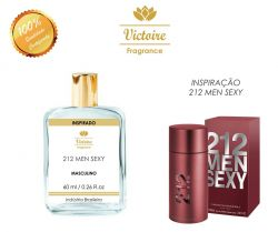 VICTOIRE 70 / INSPIRADO 212 SEXY MEN CAROLINA HERRERA 60 ML